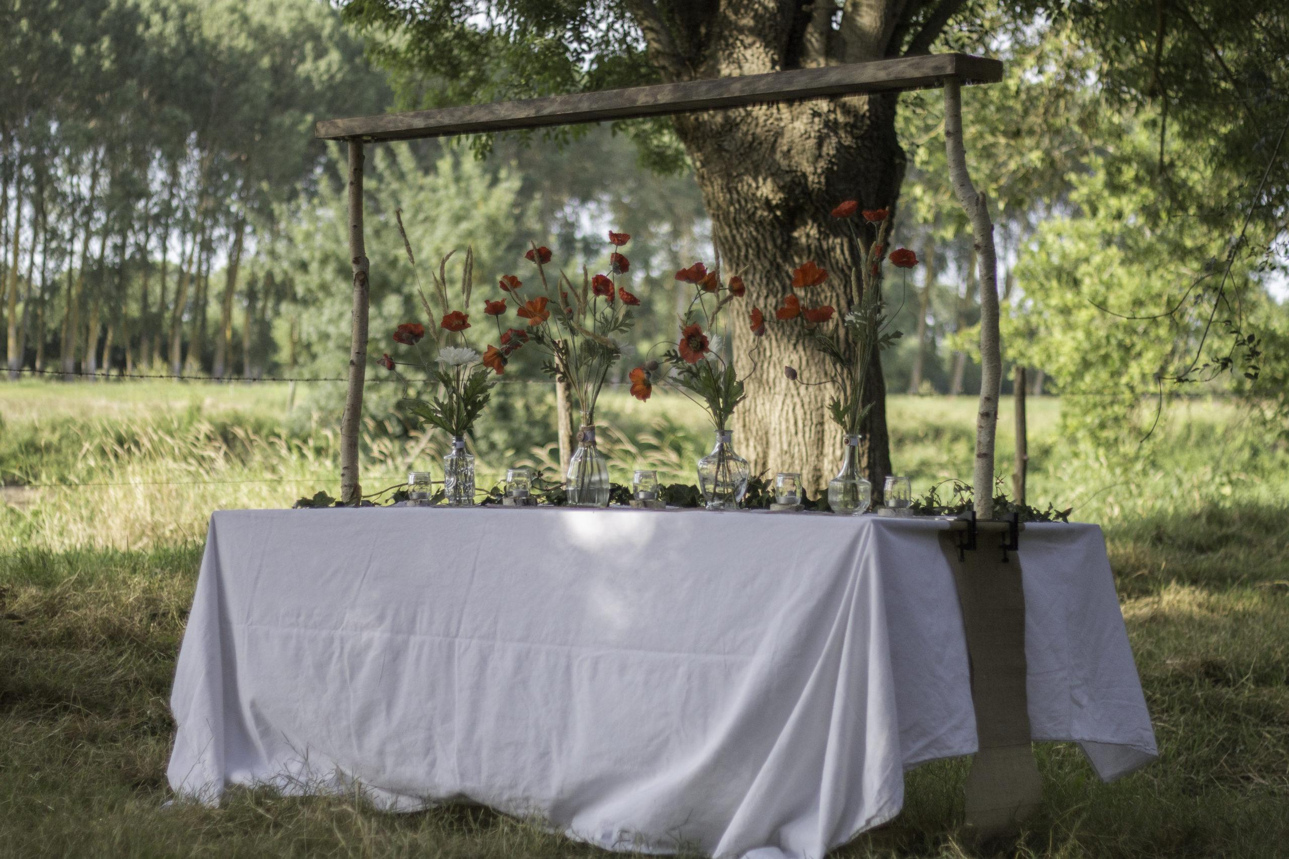 Centre de table décoration pour mariage