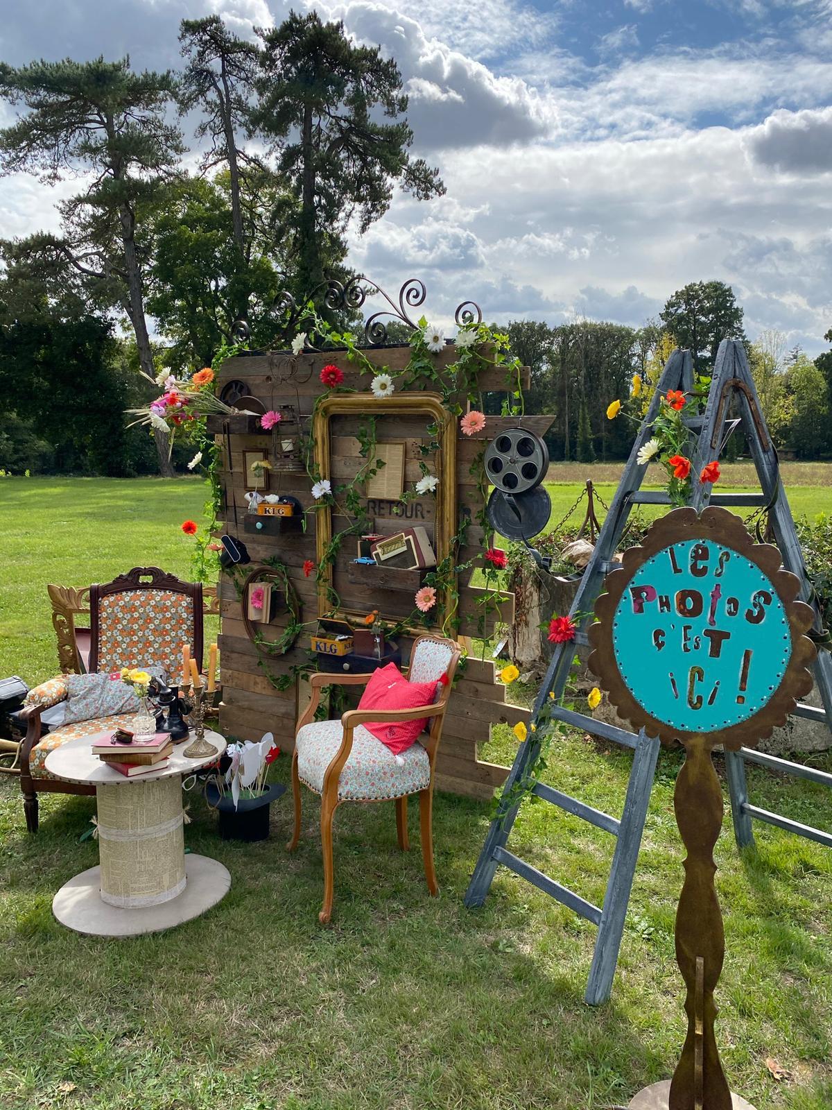 Photobooth décoration pour mariage