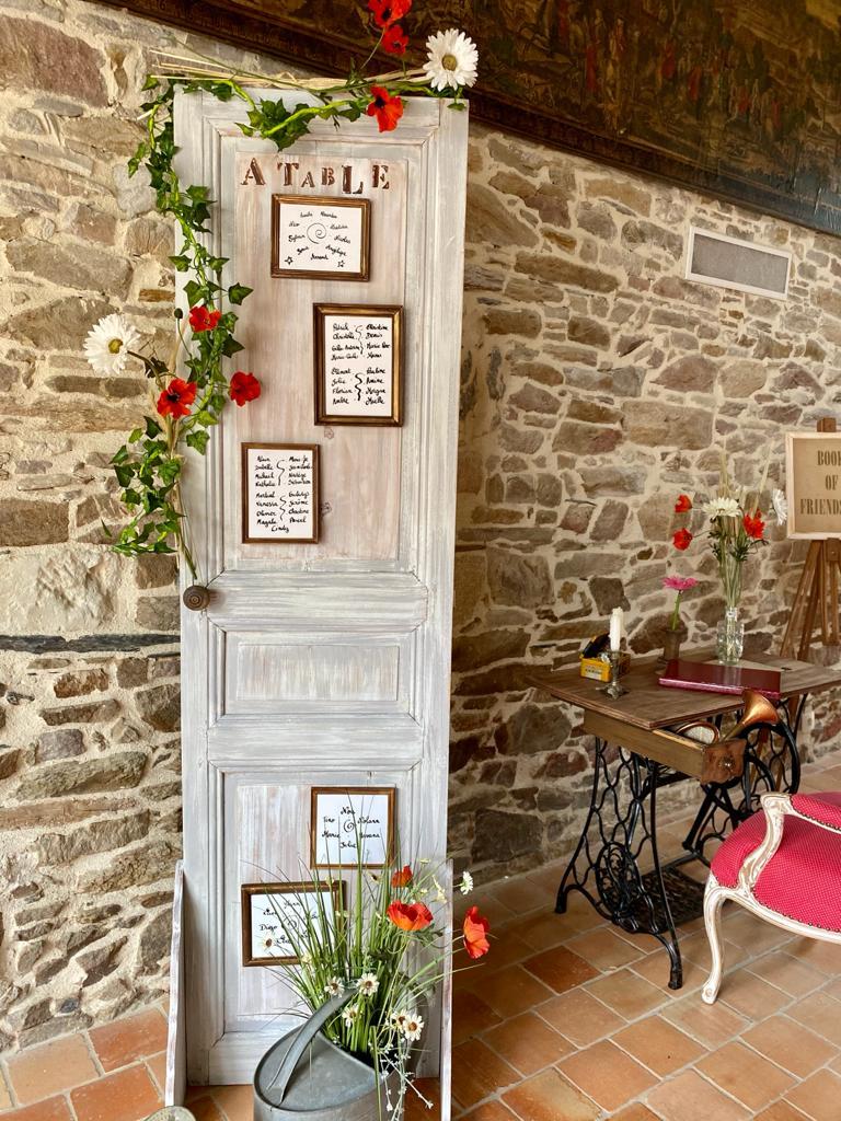 Présentation des tables décoration pour mariage